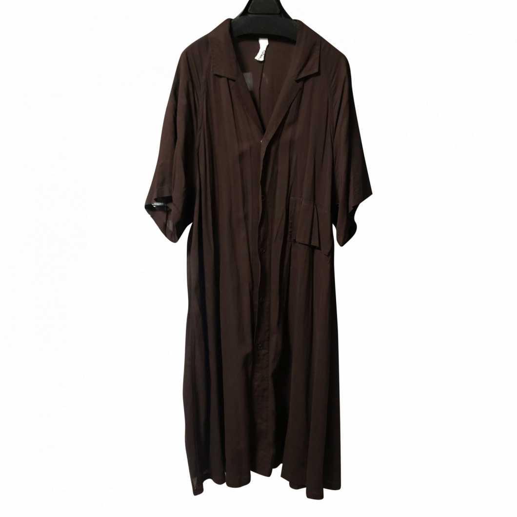 Edwina Horl エドウィナホール Short Sleeve Long Shirt Dress【買取金額 5,000円】