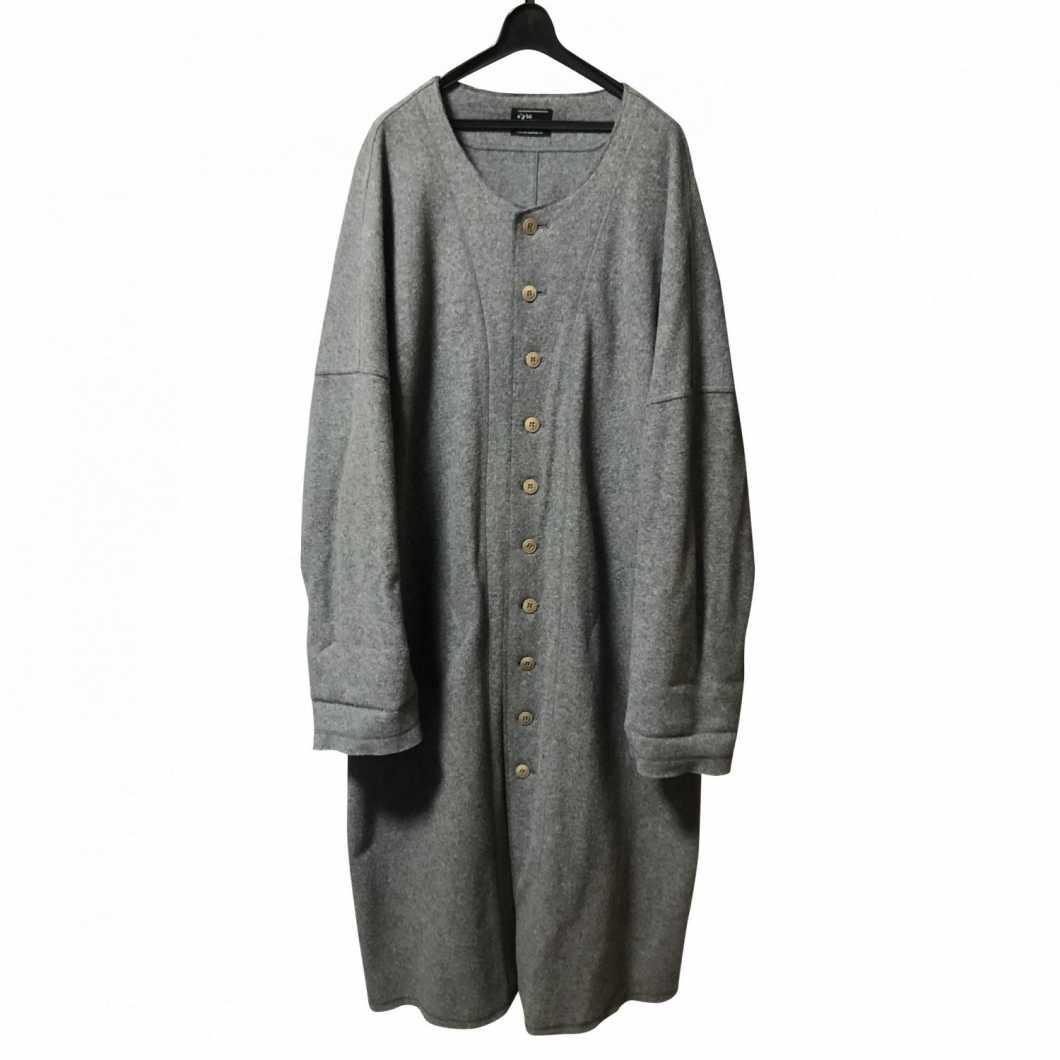 s'yte by Yohji Yamamoto サイト バイ ヨウジヤマモト 15AW compression wool No color pivot sleeve coat【買取金額 7,000円】