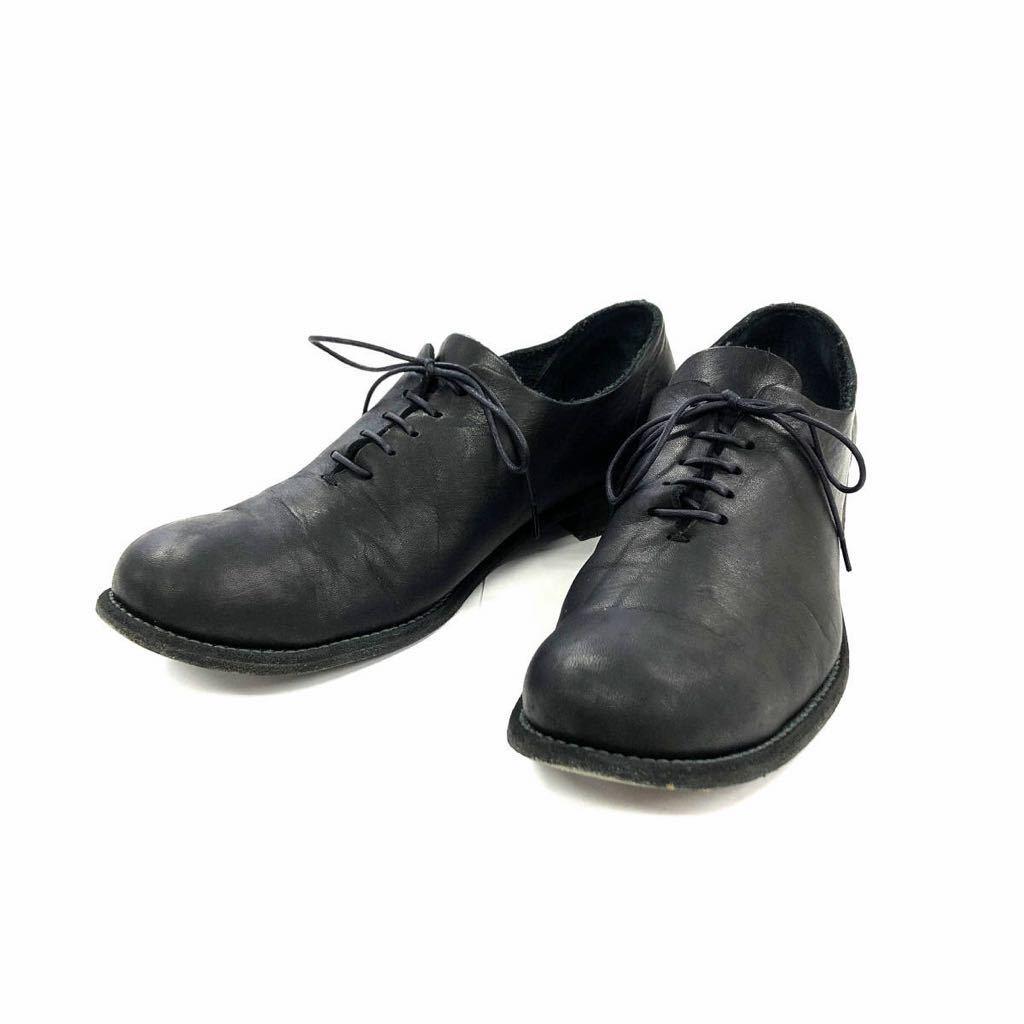 ISAMU KATAYAMA BACKLASH イサムカタヤマ バックラッシュ ジャパンショルダー製品染め短靴