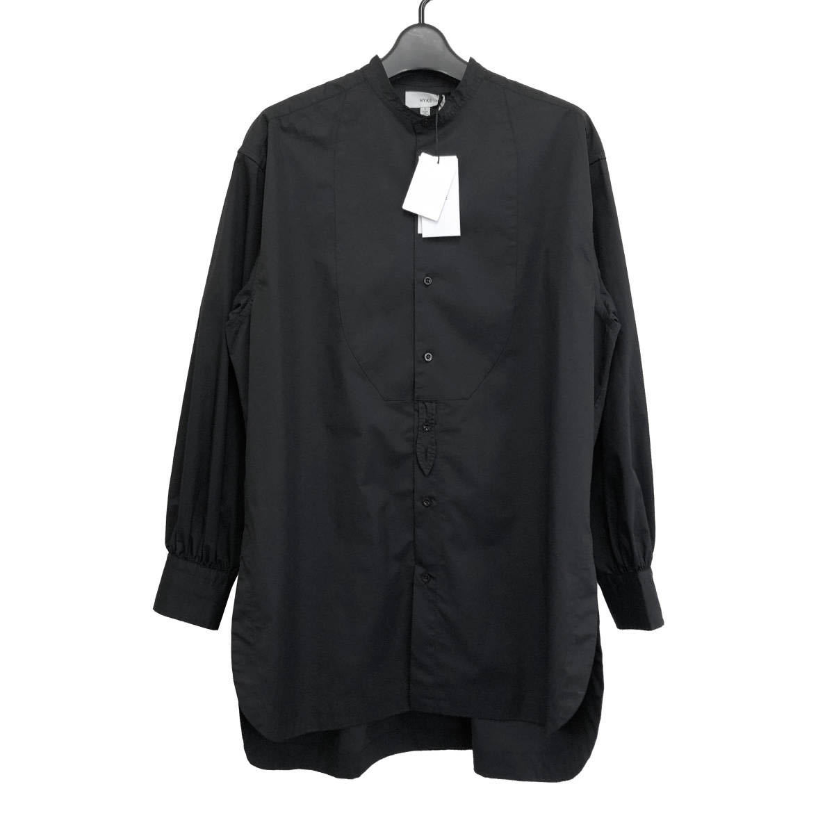 HYKE ハイク 20SS TC BIB FRONT SHIRT ビブフロントシャツ 15105