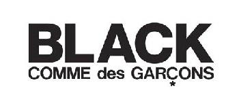 BLACK COMME des GARCONS ロゴ