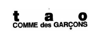 tao COMME des GARCONS ロゴ