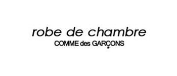 robe de chambre COMME des GARCONS ロゴ