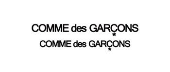 COMME des GARCONS COMME des GARCONS ロゴ