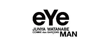 eye JUNYA WATANABE COMME des GARCONS MAN ロゴ