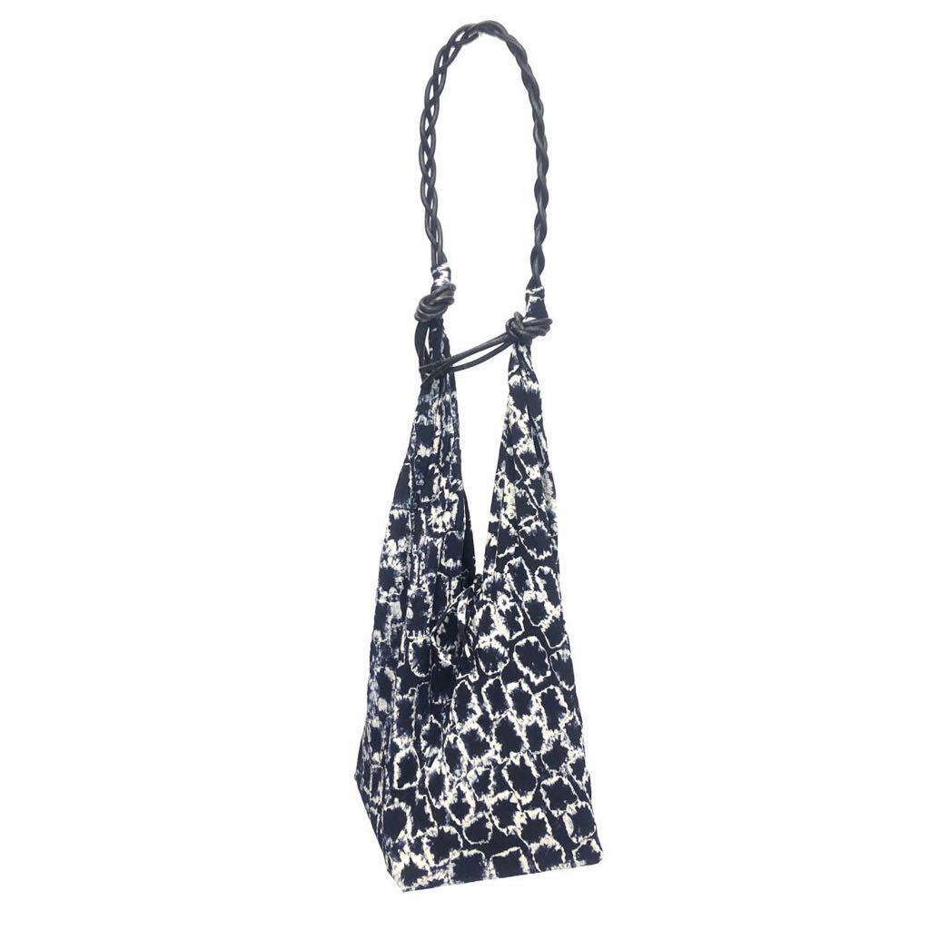 Yohji Yamamoto FEMME ヨウジヤマモト ファム 1995SS 絞り染めシルク着物バッグ