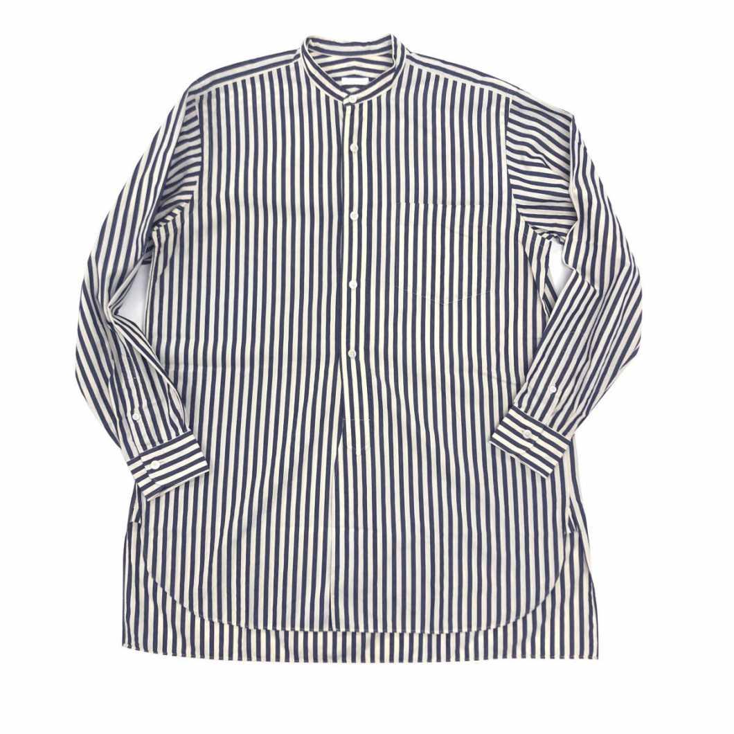 COMOLI コモリ 15AW ストライプバンドカラーシャツ 1【買取金額 9,000円】