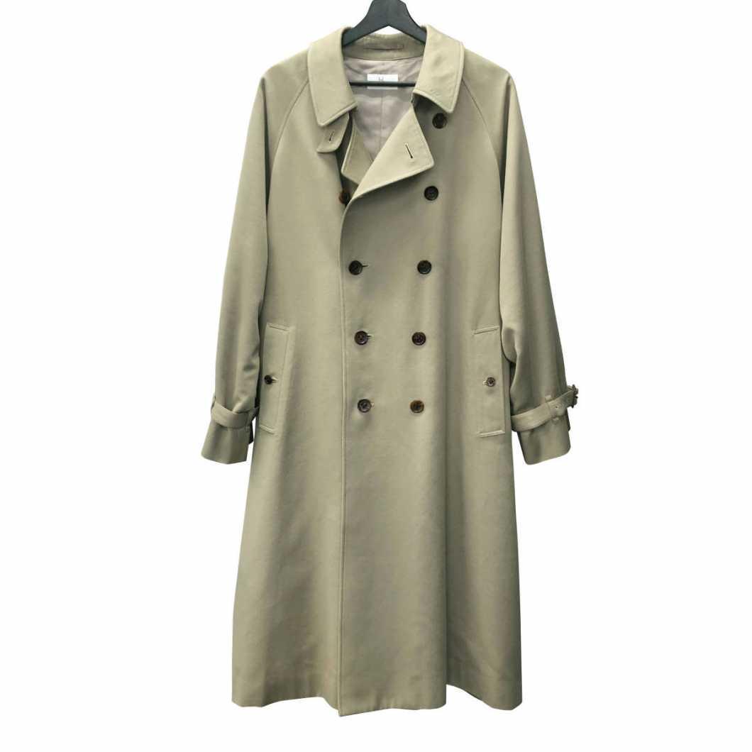 HERILL ヘリル 20AW Cashmere chino trench coat カシミヤチノオーバーサイズドトレンチコート 2【買取金額 76,000円】