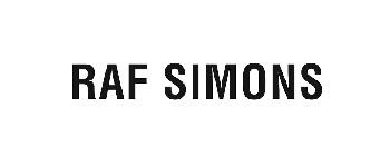 raf simons ロゴ